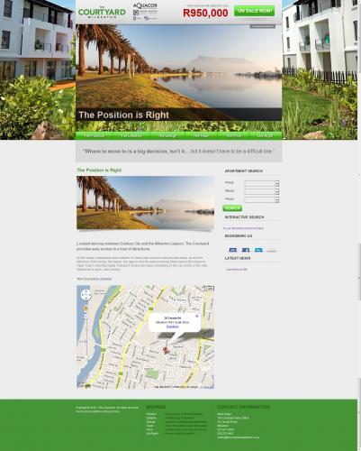 The Courtyard Website