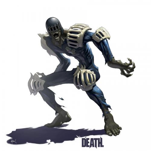 Judge Death (colour)