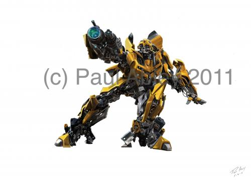 Transformer BumbleBee Paul Abley ABLYKreations