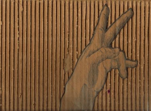 Hand Study 2/Cardboard Experiment 2