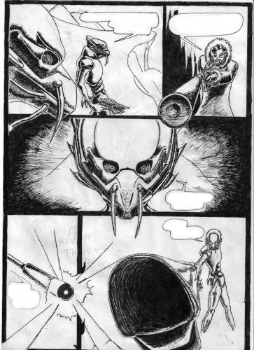Falling in Darkness comic