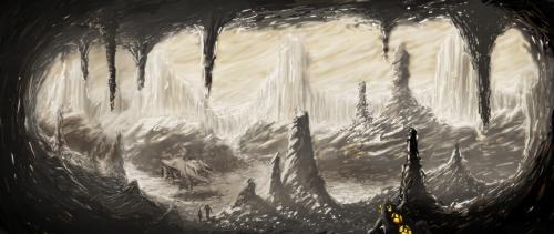 Alien cavern
