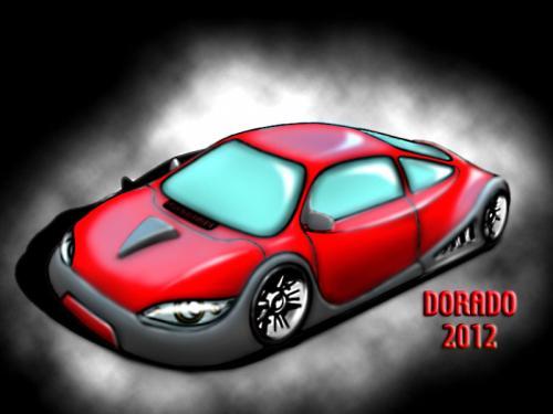 Dorado Concept Coupe flat copy