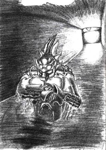 soldier - alien armour