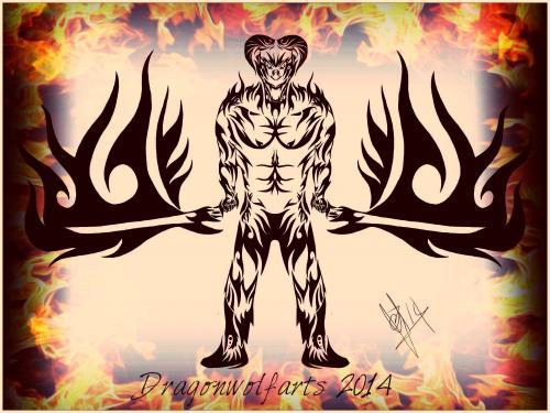 Tribal Demonic Swordsmen