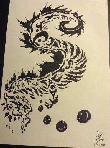 Sea Dragon Tattoo
