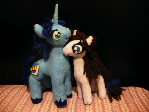Solomon and Brook Plushies