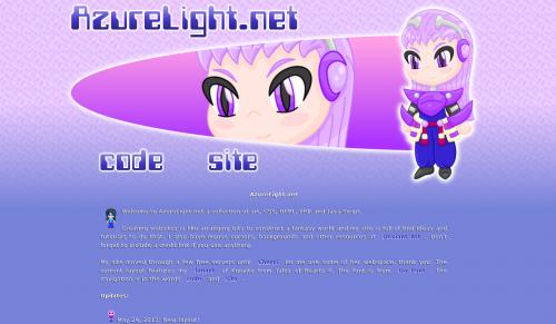 Azure Light Net Kunzite Layout