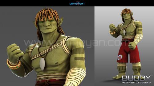 Warrior Creature Character Modeling