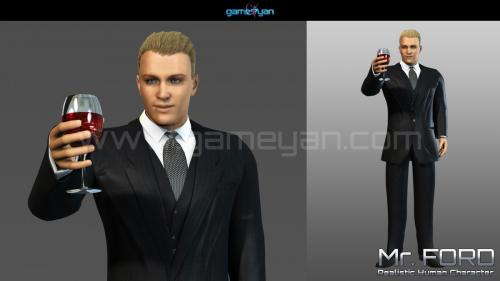 Mrford Realistic human character modeling