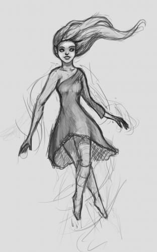 Weird-flying-girl