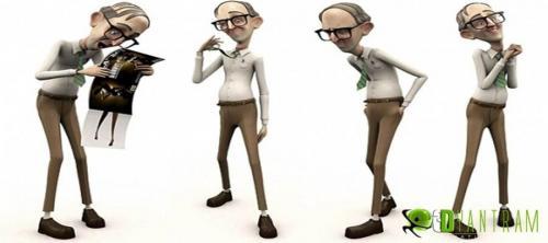 Cartoon Character Animation Design