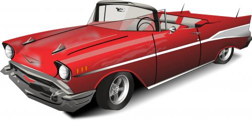'57 chevy convertible