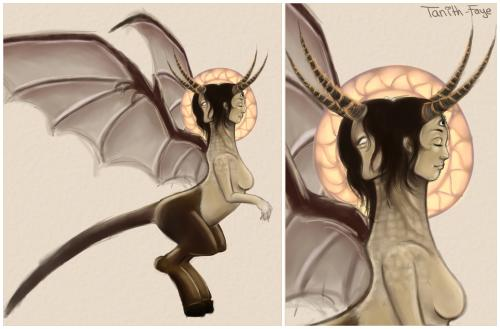 Demon conceptart