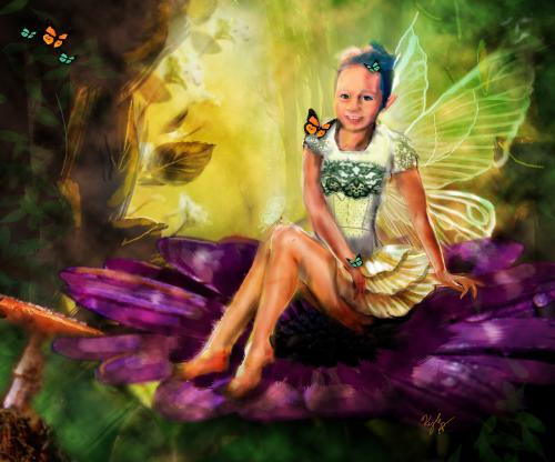 WIP keelie the fairy