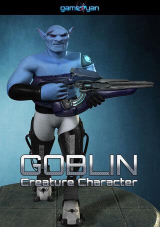 Goblin creature character animation Durango,Mexico
