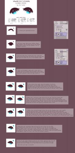 [TUT] Kawaii Eyes