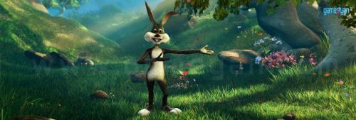 Bunny cartoon character modeling animation