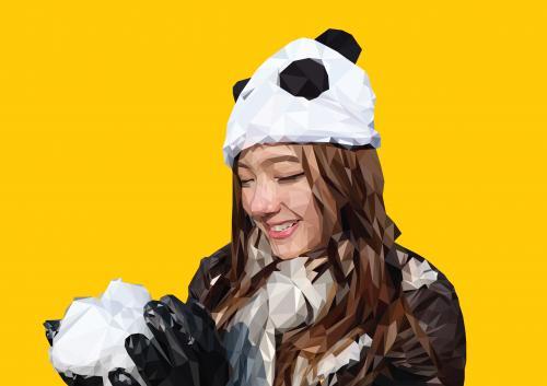 Panda-Girl