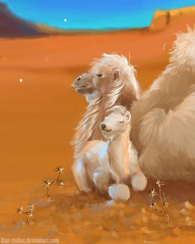 daily_paint____happy_camel__74_by_dan_zodiac-da5xa9p