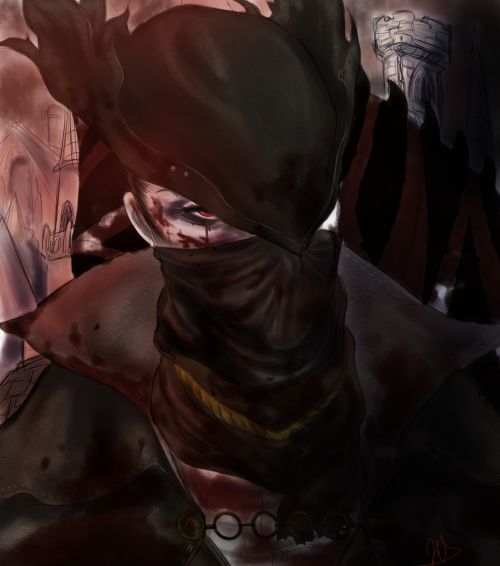 Bloodborne Hunter fanart