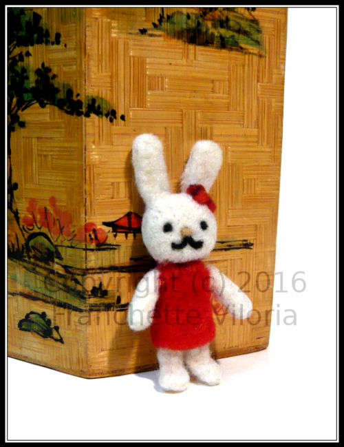Needlefelt Bunny