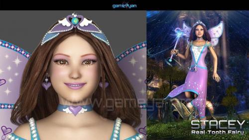 fairy Cartoon Character Animation