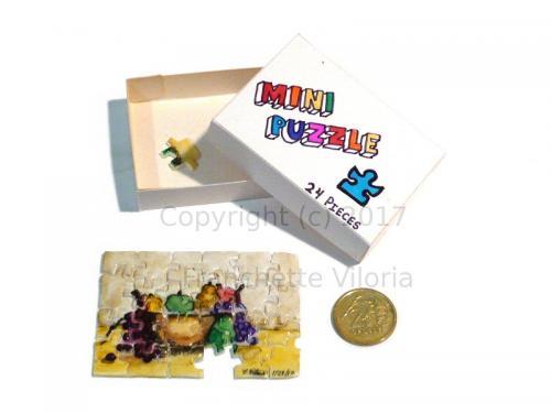 Miniature Puzzle Fruitbowl