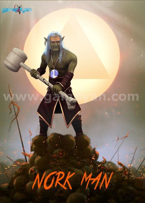 NorkMan_creature_animation_character_warrior