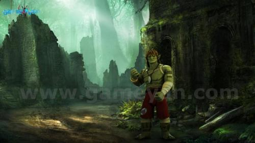 3D – Buddy Warrior Creature Character Animation Modeling Design By Game Art Outsourcing Studio