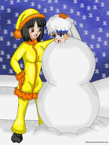Mizuki snowballs Eda 02