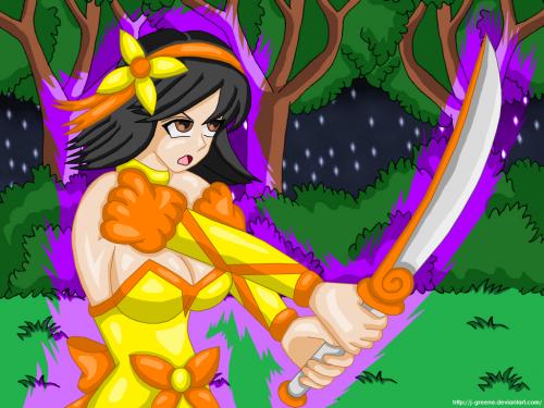 Magical Mizuki's Sword