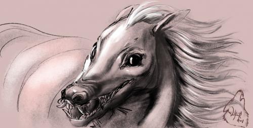 Horse demon