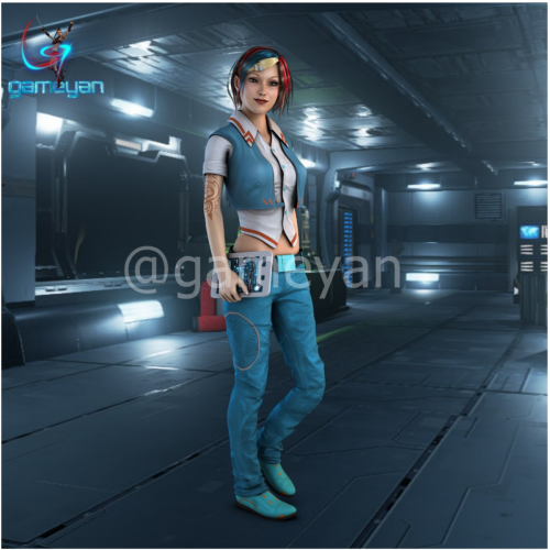 3D Character Modeling Animation By Game Art Outsourcing Studio