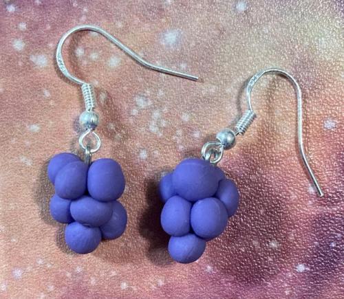 Grape_earrings