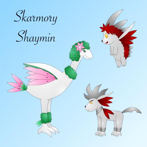 Shaymin_Skarmory