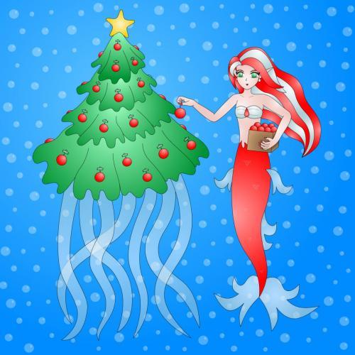 Christmas_Mermaid