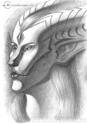 MirianaSarana - Fantasy - Humanoid Creature